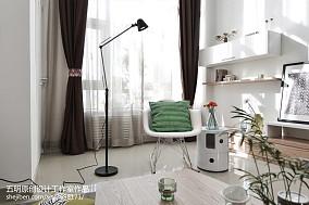轻奢68平现代二居休闲区设计案例功能区现代简约设计图片赏析