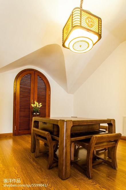 面积124平别墅休闲区混搭装修效果图片欣赏厨房