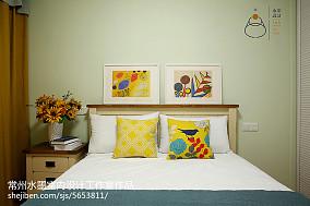 热门小户型卧室美式效果图片卧室1图美式经典设计图片赏析