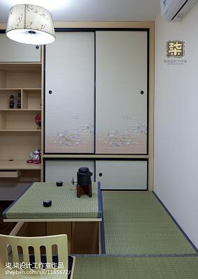 面积83平现代二居客厅装饰图片