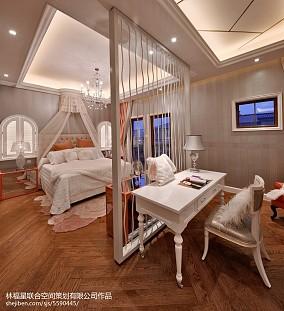 平米混搭别墅卧室效果图片别墅豪宅潮流混搭家装装修案例效果图