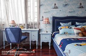 2018115平米现代别墅儿童房装修实景图片欣赏