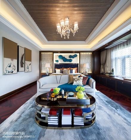 2018卧室中式装修效果图客厅