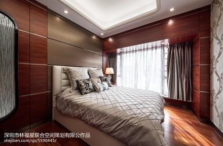 精选132平米现代别墅卧室设计效果图卧室