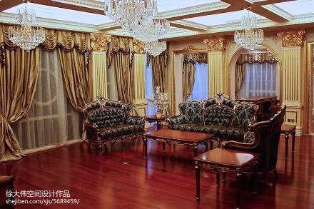 精美面积112平别墅卧室欧式欣赏图卧室3图