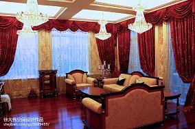面积135平别墅卧室欧式装修实景图片大全卧室1图欧式豪华设计图片赏析