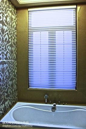 优雅114平欧式四居卫生间装修图卫生间欧式豪华设计图片赏析