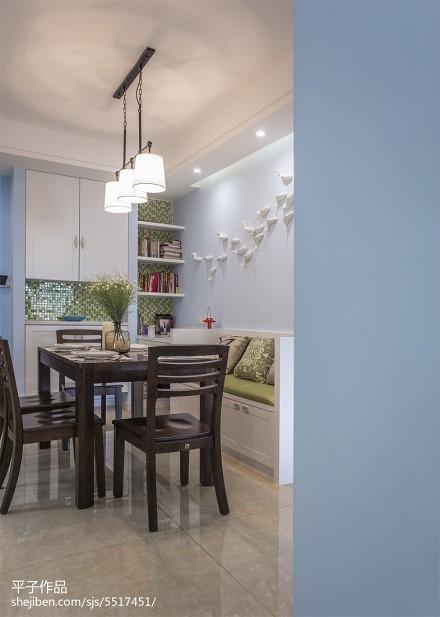 面积70平混搭二居餐厅实景图厨房1图
