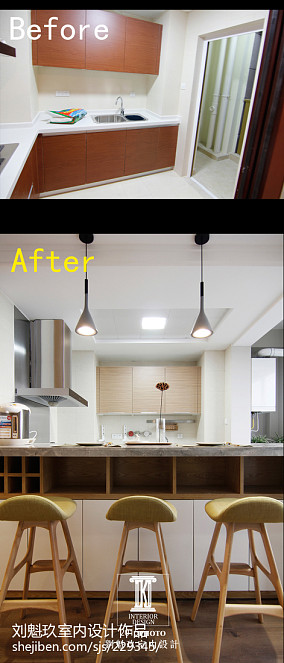 现代二居厨房装饰图片