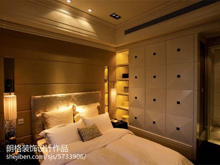 精美欧式四居卧室装修图片欣赏卧室