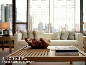 精选135平米中式别墅客厅效果图