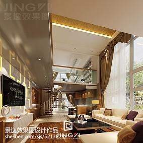 精美100平米3室客厅混搭装修设计效果图片欣赏