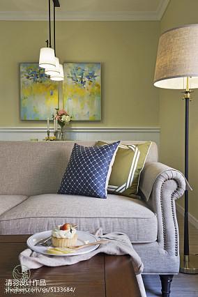 精美95平客厅三居混搭装修实景图81-100m²三居潮流混搭家装装修案例效果图