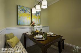热门106平方三居餐厅混搭效果图81-100m²三居潮流混搭家装装修案例效果图