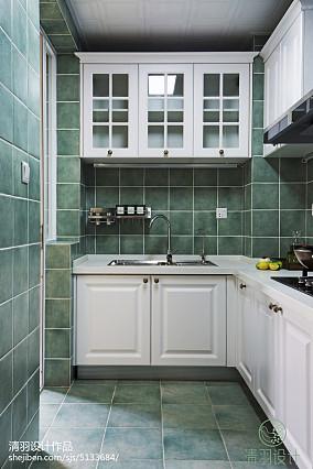 面积103平混搭三居厨房装修设计效果图片81-100m²三居潮流混搭家装装修案例效果图