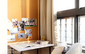 质朴89平现代二居阳台装饰图阳台现代简约设计图片赏析