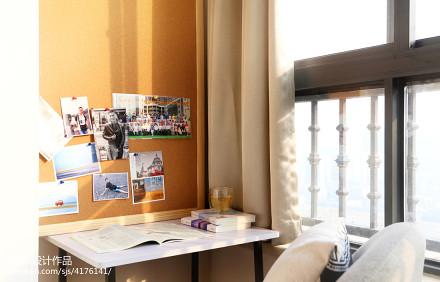 质朴89平现代二居阳台装饰图阳台