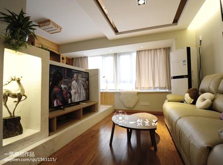 97平米三居客厅现代装修图片大全