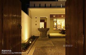 热门别墅花园现代实景图片大全