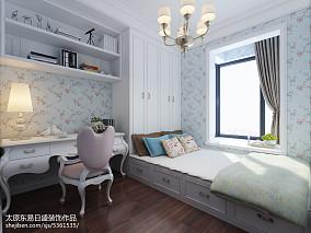 精选101平米三居卧室欧式装修欣赏图