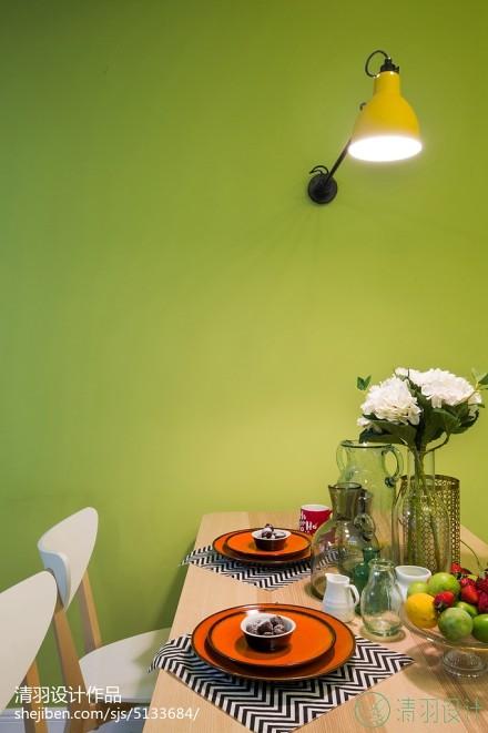 精选101平米三居餐厅混搭装修实景图厨房4图