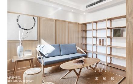 典雅88平现代二居客厅装修设计图二居现代简约家装装修案例效果图