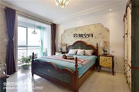 精美102平米三居卧室地中海效果图