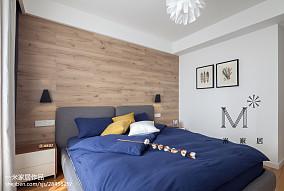 精美三居卧室中式装修实景图片三居中式现代家装装修案例效果图