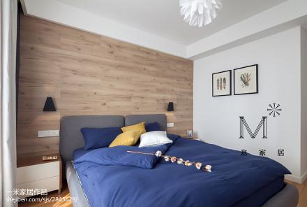 精美三居卧室中式装修实景图片卧室