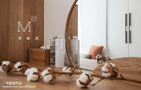2018精选中式三居衣帽间装修设计效果图片大全三居中式现代家装装修案例效果图