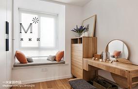 热门三居衣帽间中式装修实景图片大全三居中式现代家装装修案例效果图