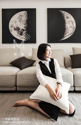 精美大小100平中式三居客厅装修效果图片欣赏三居中式现代家装装修案例效果图
