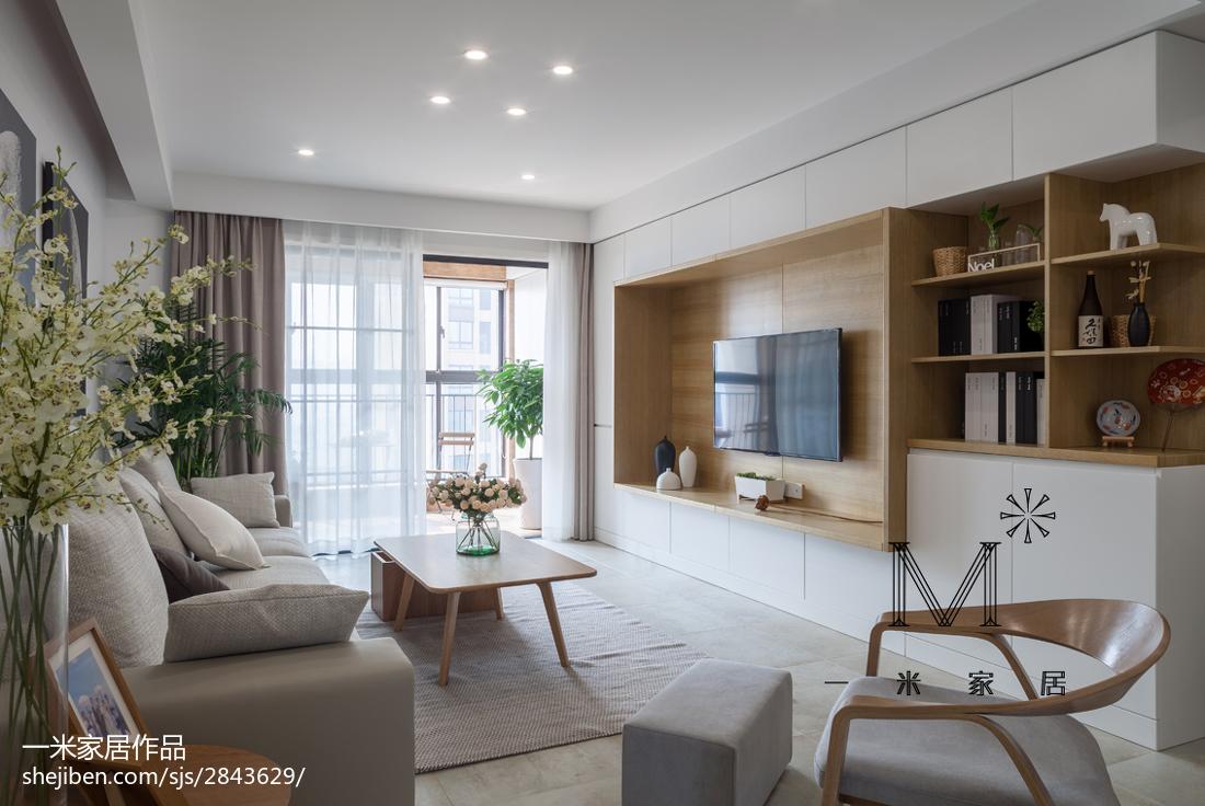 大气142平中式三居客厅设计案例客厅中式现代客厅设计图片赏析