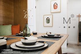 2018三居餐厅中式装修实景图片大全三居中式现代家装装修案例效果图