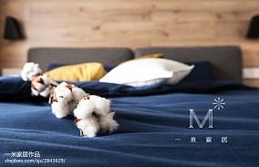 精选107平米三居卧室中式实景图片欣赏家装装修案例效果图
