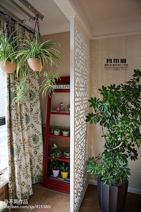 面积109平混搭三居阳台装修设计效果图片欣赏阳台1图潮流混搭设计图片赏析