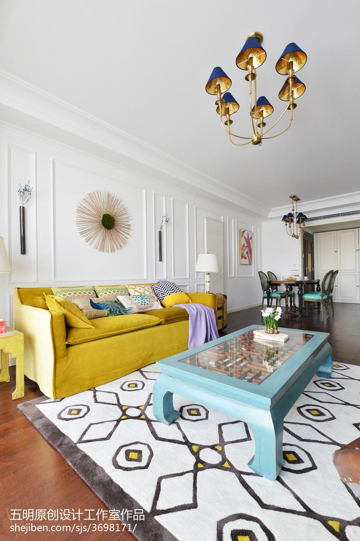 王妃客厅沙发潮流混搭客厅设计图片赏析