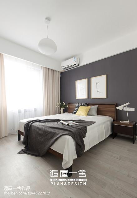 北欧风格卧室装修设计欣赏