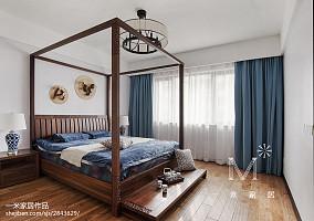 华丽145平中式四居装修效果图四居及以上中式现代家装装修案例效果图