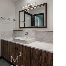 质朴158平中式四居卫生间效果图欣赏