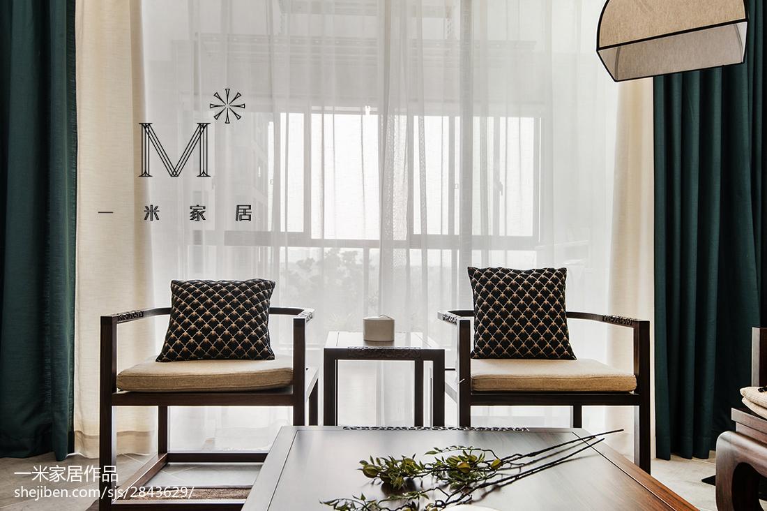 热门128平米四居客厅中式欣赏图片客厅2图中式现代客厅设计图片赏析