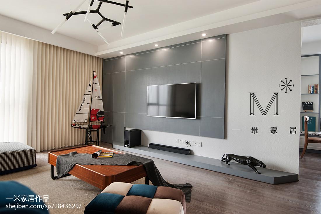 2018精选90平米三居客厅现代装修图片大全客厅窗帘现代简约客厅设计图片赏析