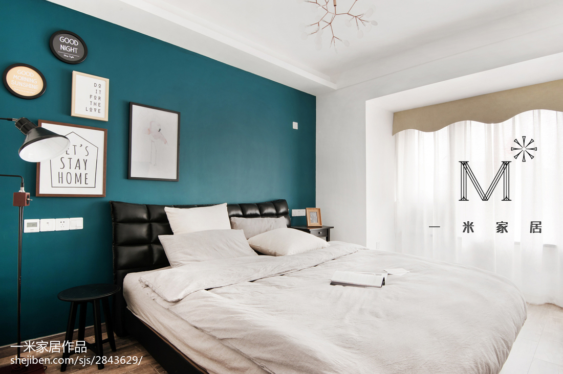 精美90平方三居卧室现代装修效果图片大全卧室床现代简约卧室设计图片赏析