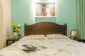 精选83平米二居卧室混搭装饰图片大全