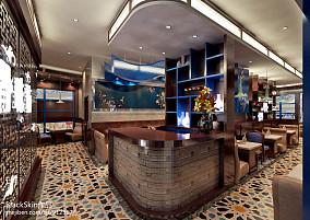 80平米两室一厅欧式风格装修效果图