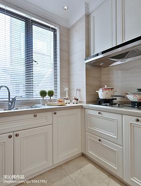 热门欧式厨房装修欣赏图