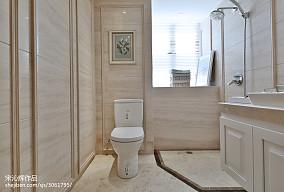 热门卫生间欧式装修设计效果图片