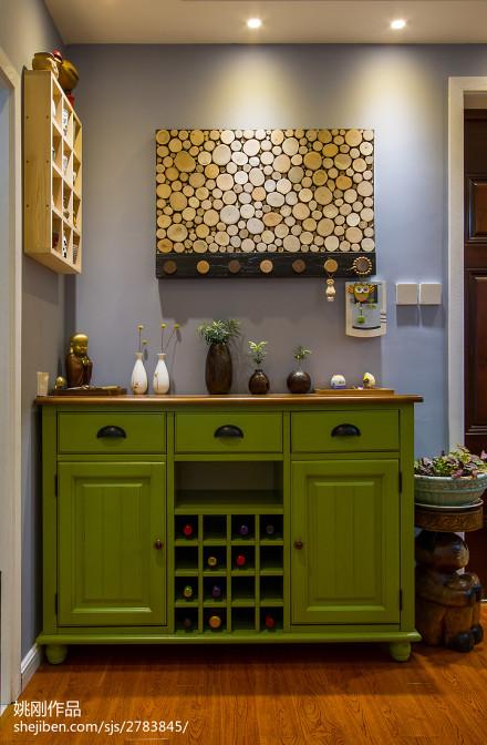 热门美式二居玄关装饰图片欣赏玄关
