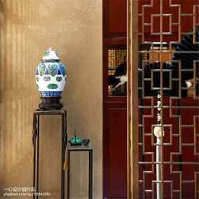 350㎡中式现代家装装修效果图