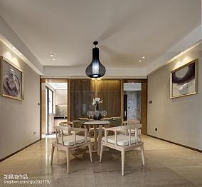 精美餐厅中式效果图样板间中式现代家装装修案例效果图